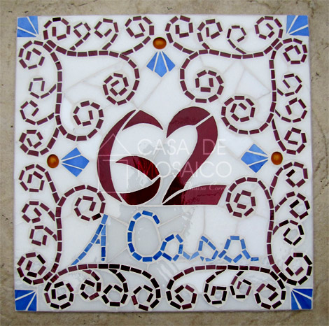 Azulejo colonial o blog da casa de mosaico for Azulejo numero casa