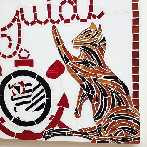 Gato de mosaico
