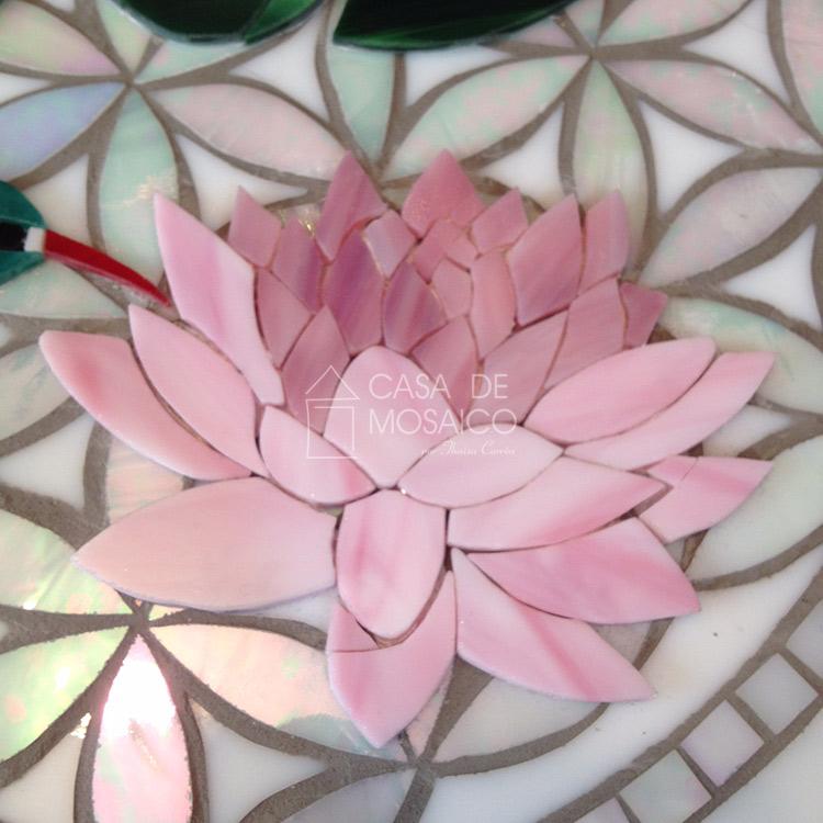 Flor de Lótus de mosaico